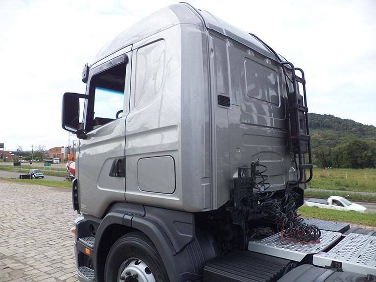 Foto do caminhão G420 6x2