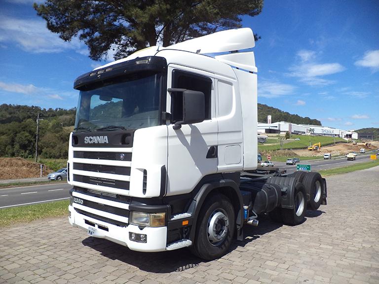 Foto do caminhão R114 380 6x2