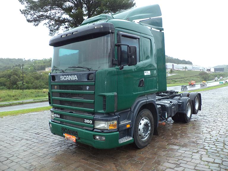 Foto do caminhão R124 360 6x2
